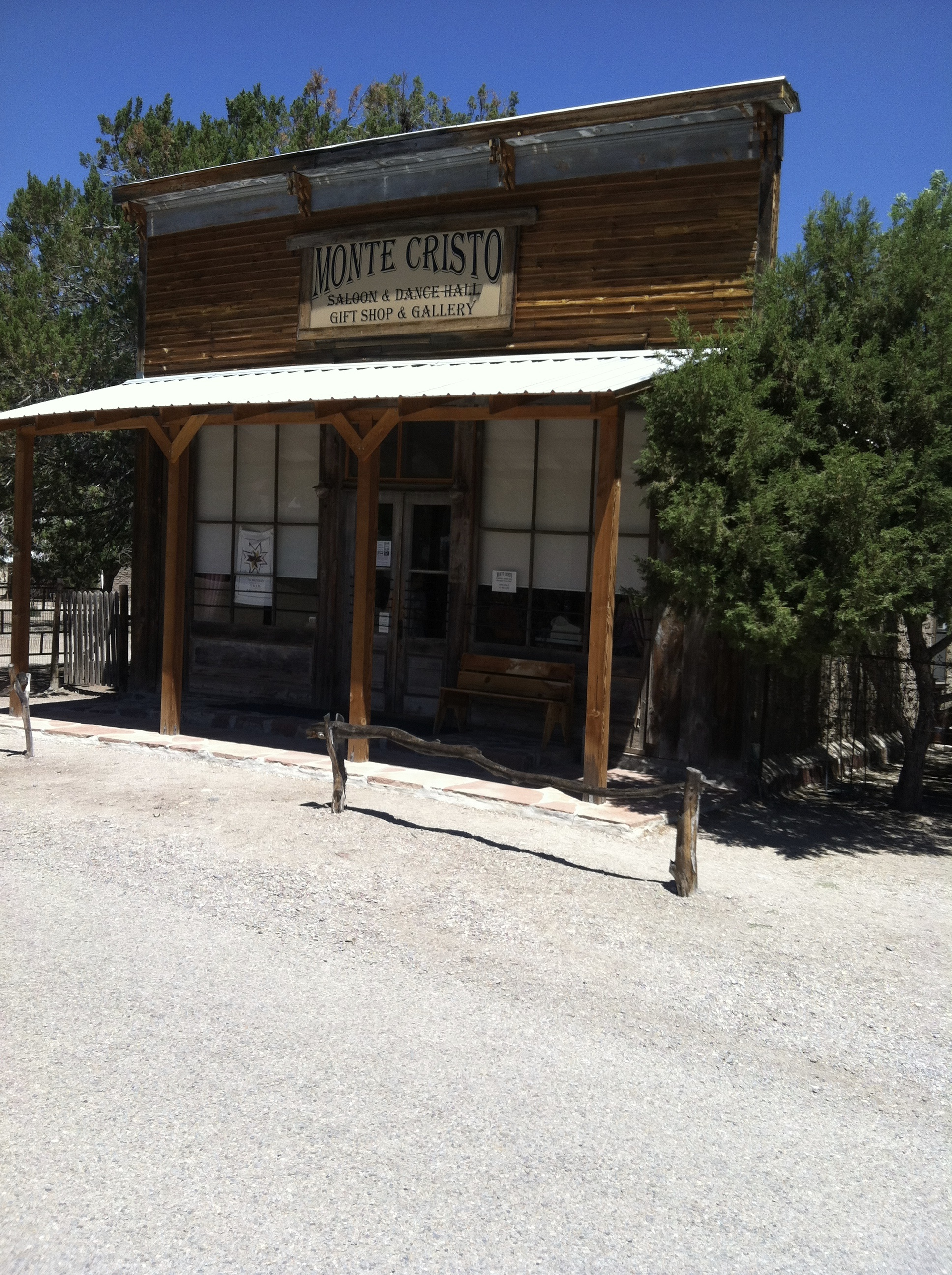 Here are some pictures of a ghost town not far from Kingston NM. It is Chloride, NM.