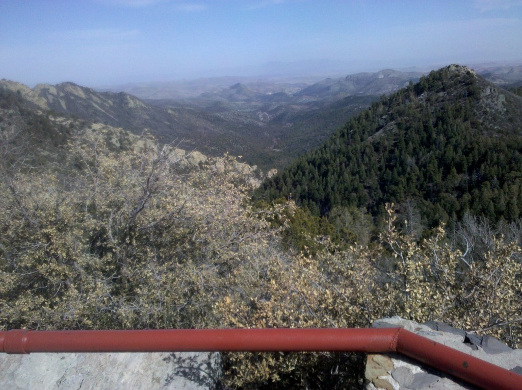 View of Kingston, NM from Emory Pass lookout.