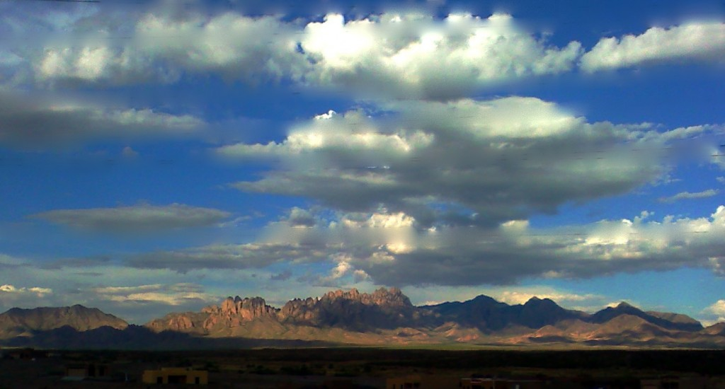 The majestic Organ Mountains.