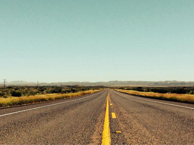 Wide open spaces in West Texas. It is so beautiful. I never tire looking at this scenery.