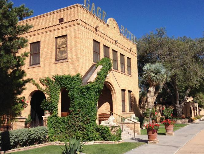 A beautifully restored and very elegant hotel in the western cowboy motif. The busy season is coming because fall is the best time of year to visit Big Bend National Park.