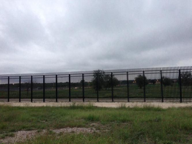 The border fence in Del Rio. We didn't want to go that way.