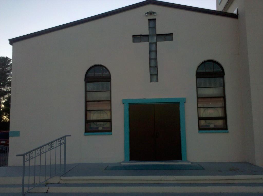 Our Lady of Fatima Church, Van Horn, TX.
