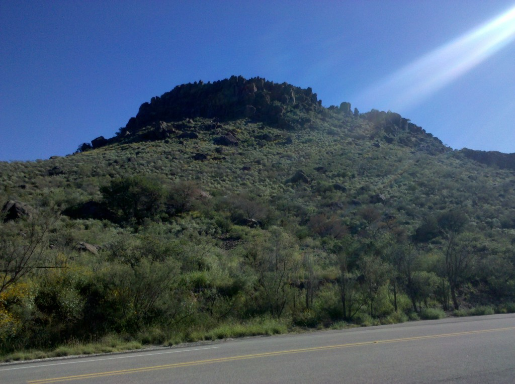 Puera Cito Mountains outside Fort Davis on TX 118.  The scenery along TX 118 was stunning!