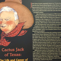 """Garner came by the name """"Cactus Jack"""" for advocating for the cactus as the state flower of Texas - it was not selected :("""