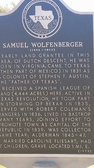No Native Americans or immigrant settlers were harmed in the making of this historical marker.