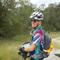 Mark at a rest stop along US 90.