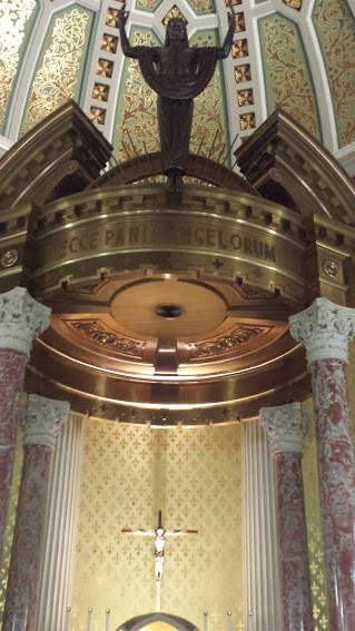 Top of the altar in Cathedral of the Immaculate Conception, Mobile, AL