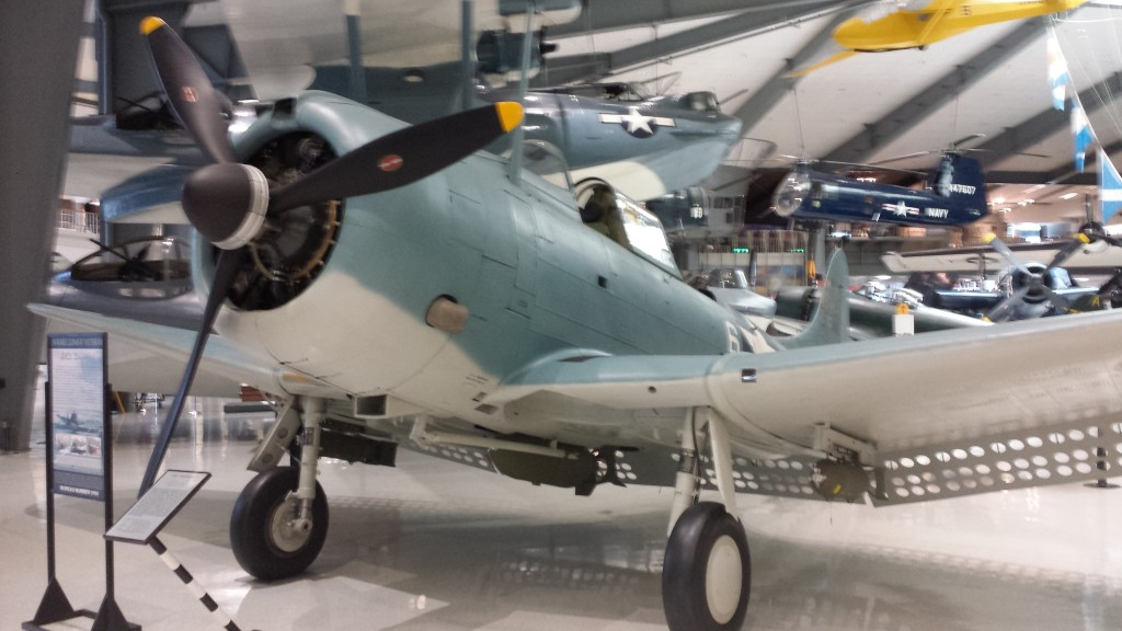 Grumman F4F Hellcat, which was famous for its service in the Battle of Midway.