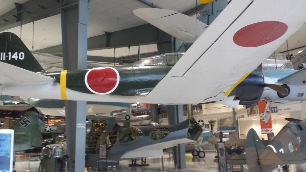 One of the famous Japanese Zero aircraft from WWII.