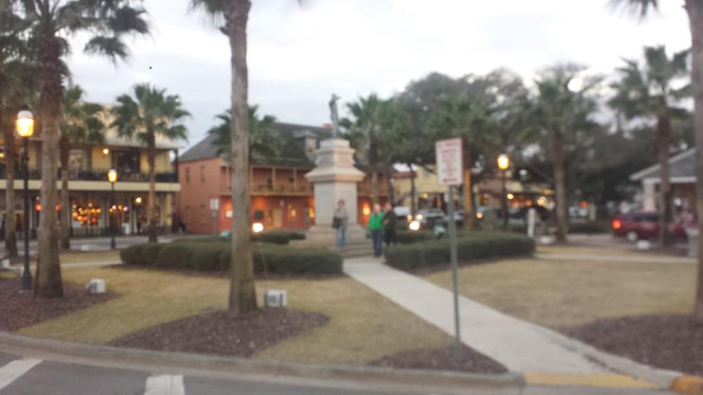 Plaza de La Constitución in Historic St. Augustine.