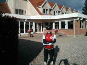 """Google Maps took us through Fangel - where Beth and I stayed (""""in Odense"""" hah!) back in 2001. Fun times were had in this hotel."""