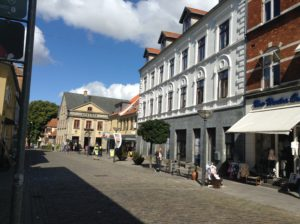 Another pic of the square in Faaborg.